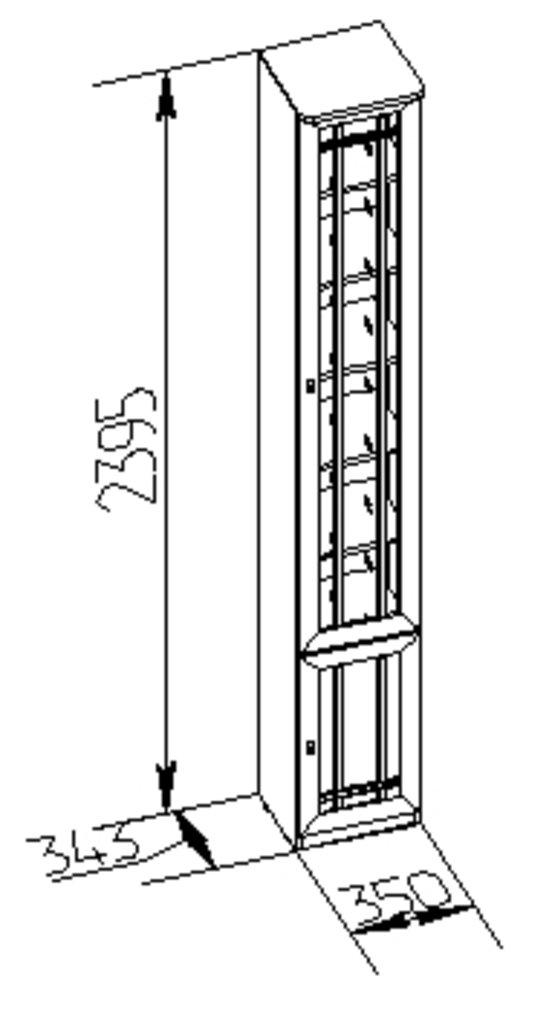 Книжные шкафы и полки: Шкаф для книг Sherlock 31 в Стильная мебель
