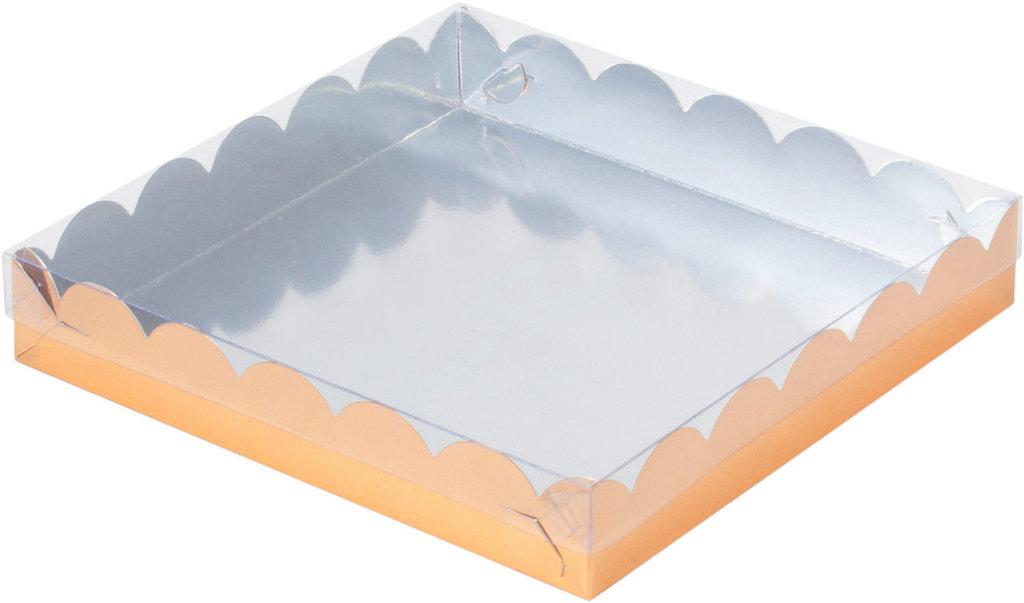 Коробки для пряников и печенья: Коробка 155х155х35мм для пряников (ЗОЛОТО) в ТортExpress
