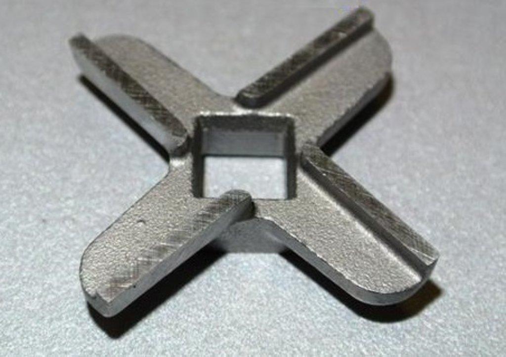 Запчасти для электромясорубок: Нож D=47, h=9.5, квадрат=9, для мясорубки GORENJE MG1800W, GR001 в АНС ПРОЕКТ, ООО, Сервисный центр
