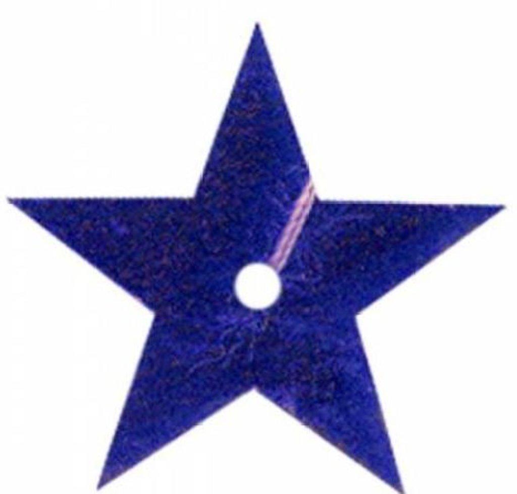Звездочки: Пайетки звездочки,20мм.,упак/10гр.Астра(цвет:5 т.синий) в Редиант-НК