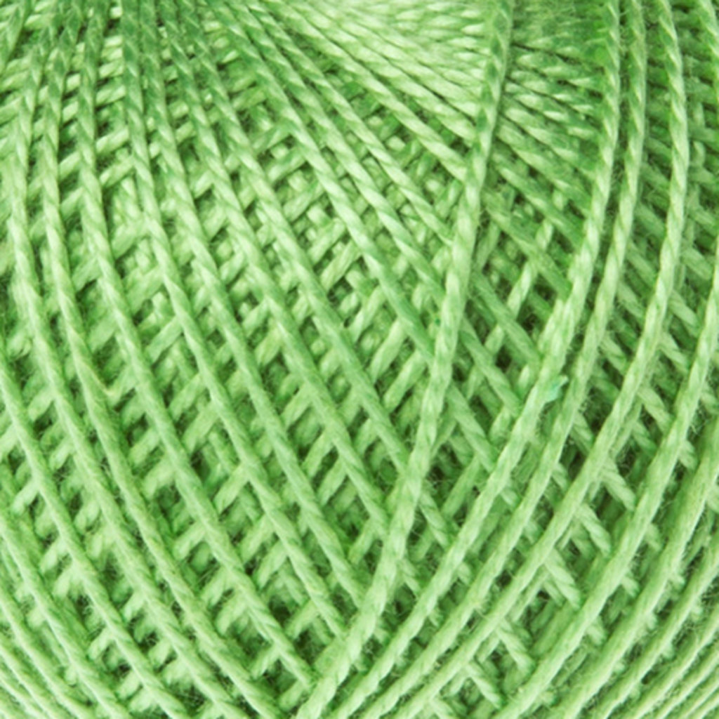 Ирис 25гр.: Нитки Ирис 25гр.150м.(100%хлопок)цвет 3904 св.зеленый в Редиант-НК
