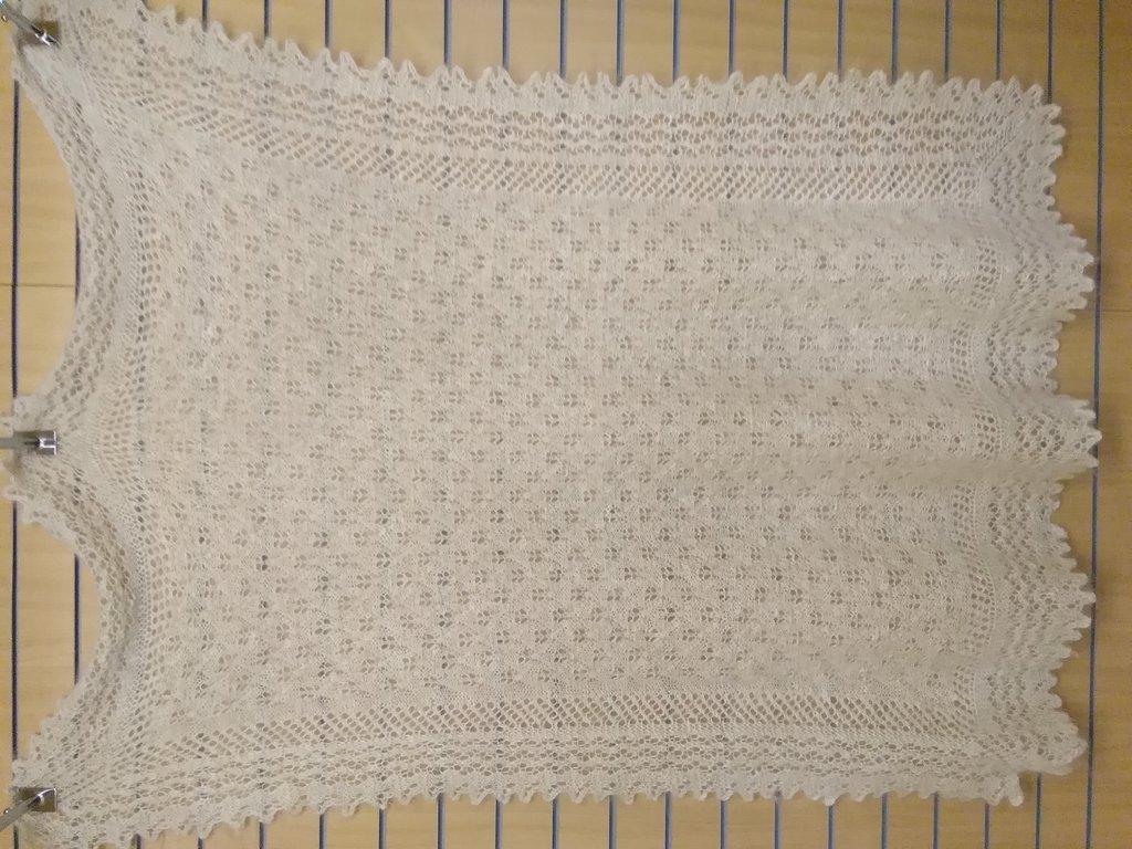 Манишки, шали, шарфы, платки, палантины: Палантин из 100% пуха козы (180х180 см) в Сельский магазин