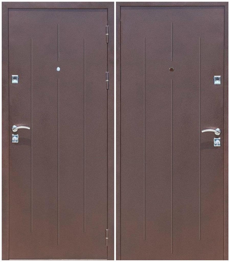 Двери Стройгост: Стройгост 7-1 мет-мет гофрокартон в Модуль Плюс