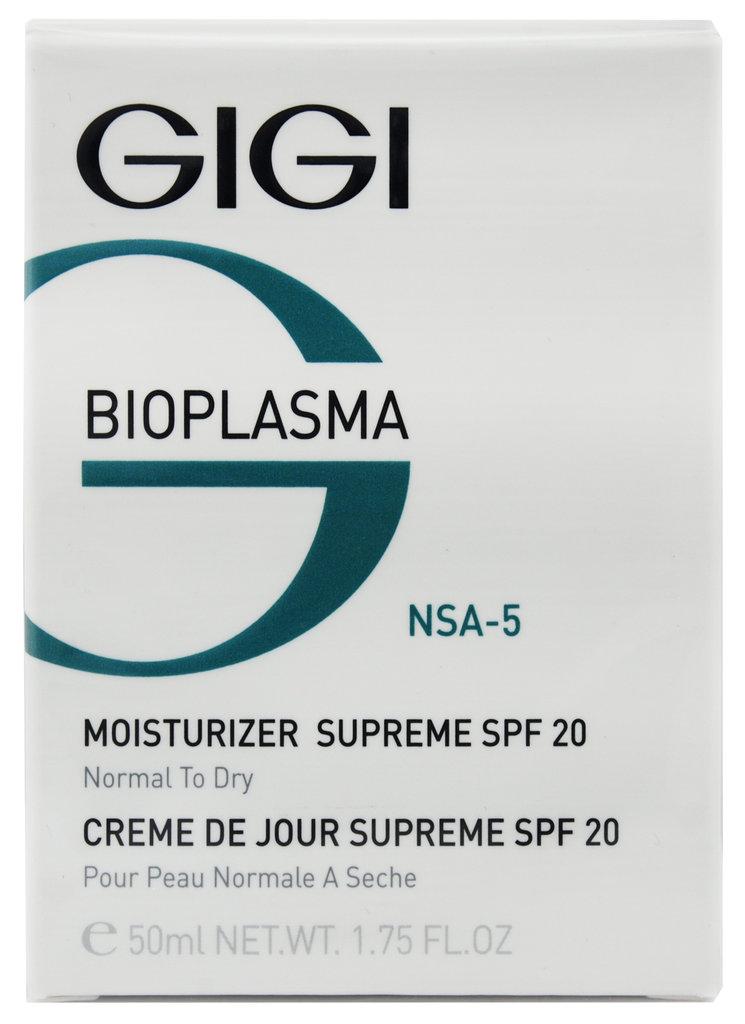 Крема: Крем увлажняющий для нормальной и сухой кожи / Moist Supreme SPF 20, Bioplasma, GiGi в Косметичка, интернет-магазин профессиональной косметики