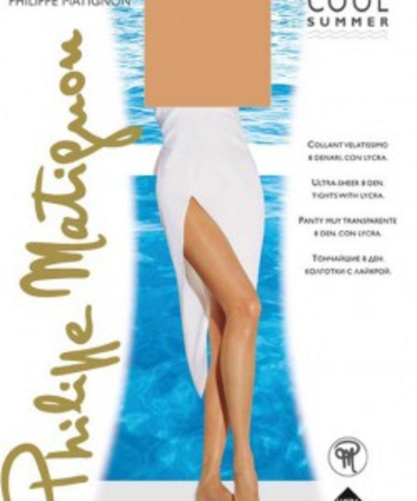 Колготки: Тонкие прозрачные колготки Philippe Matignon COOL SUMMER 8 в Sesso