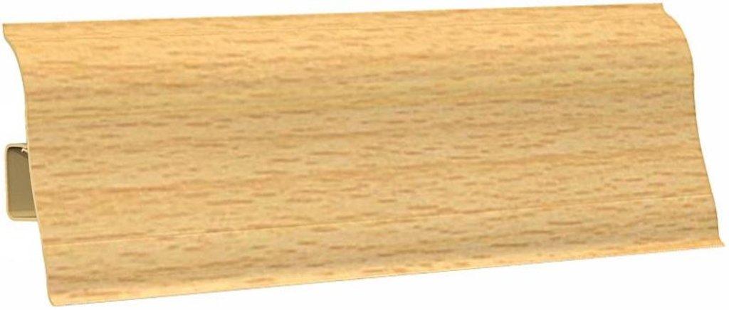Плинтуса напольные: Плинтус напольный Ecoline 101 бук в Мир Потолков