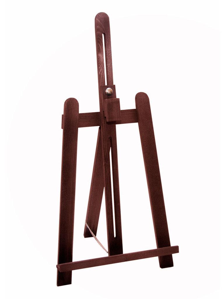 Мольберты: Настольный мольберт Лира Малевичъ, коричневый арт 132002 в Шедевр, художественный салон