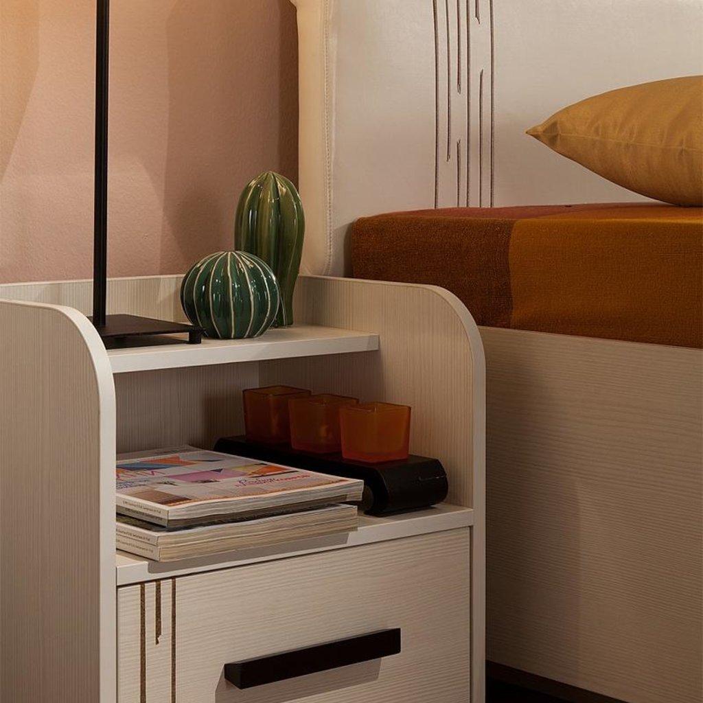 Кровати: Кровать Майя 32 (1600, мех. подъема) в Стильная мебель
