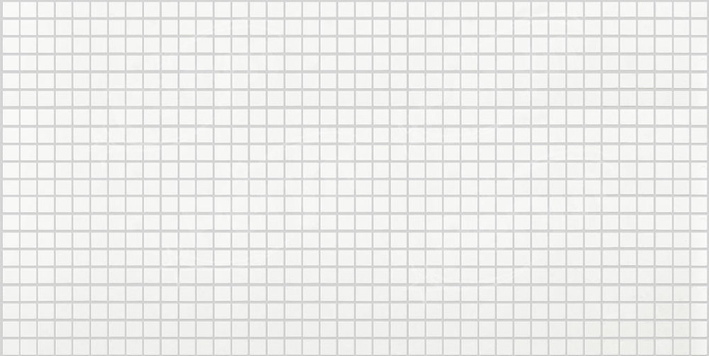Панели ПВХ: Мозаика Белая с серым швом в Мир Потолков