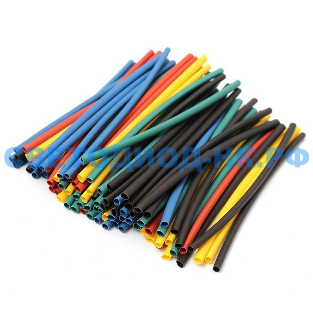 Термоусадочные трубки: Набор термоусадочных трубок N3 STEKKER HSHTS3, длина 10 см., коэф. усадки 2:1, многоцветный (22шт в упаковке) в СВЕТОВОД