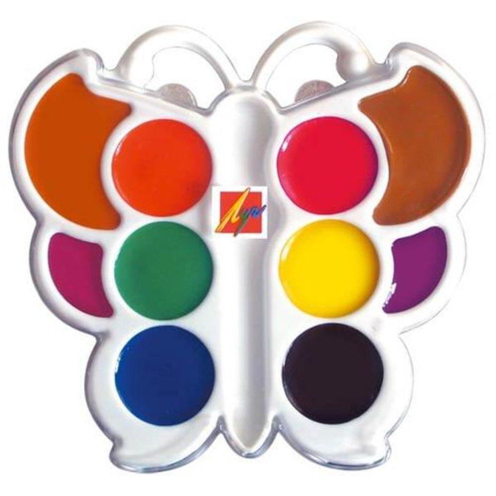 """Краски: Краски акварельные медовые """"Бабочка"""" в Шедевр, художественный салон"""