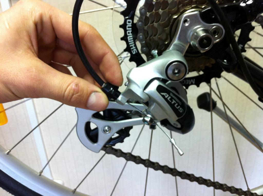 Ремонт велосипеда: Регулировка велосипеда в Веломеханика