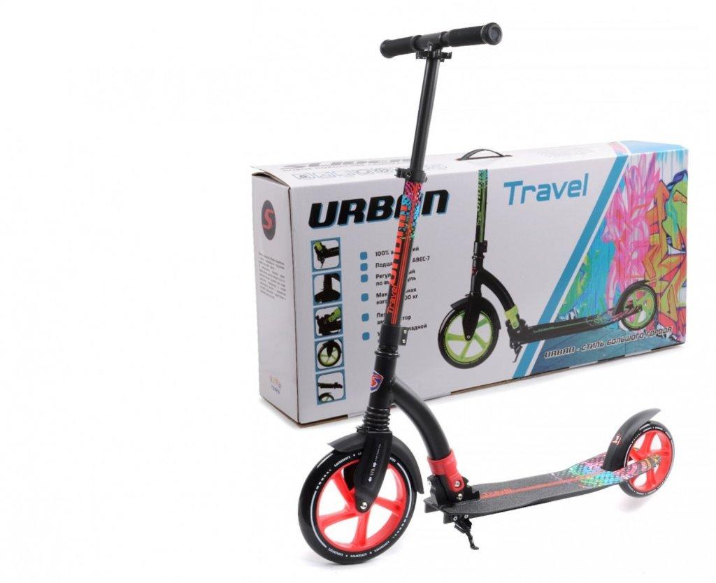 Самокаты: Самокат двухколёсный Slider URBAN Travel в Игрушки Сити