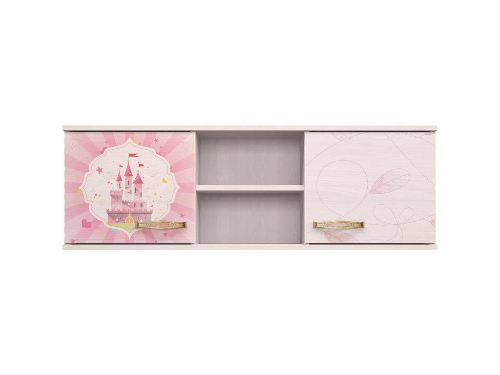Детские шкафы и стеллажи: Шкаф навесной 17 Принцесса в Стильная мебель