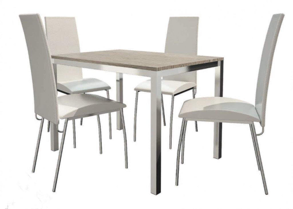 Столы кухонные.: Стол ПГ-21 h=708 (хром) в АРТ-МЕБЕЛЬ НН