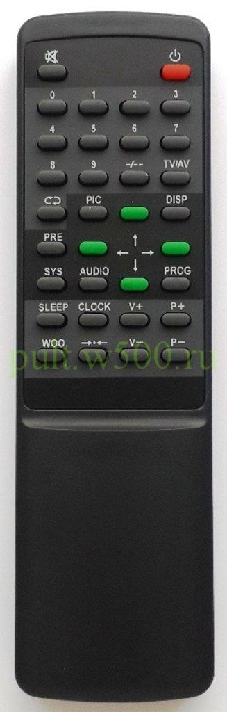 AKIRA: Пульт AKIRA RY-2002 чёрный ( TV CT-14UX9A ) HUAYU в A-Центр Пульты ДУ