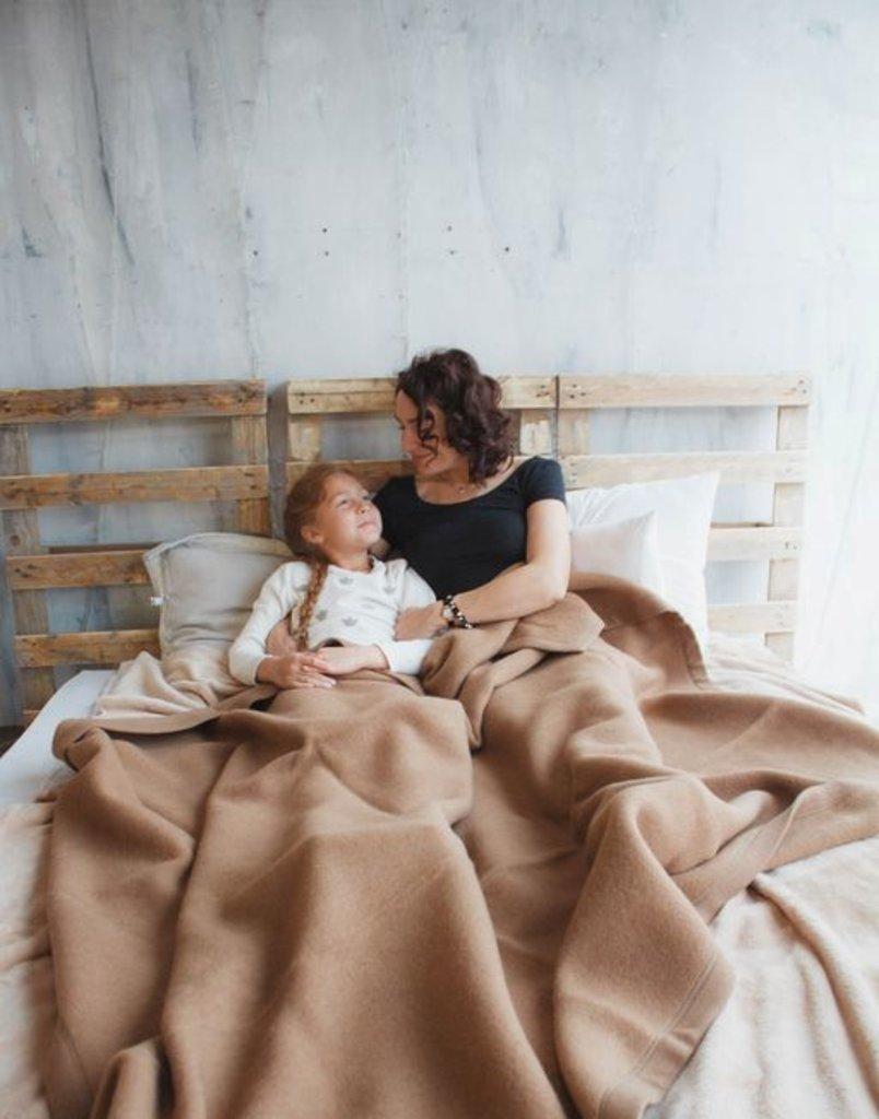 Одеяла и пледы: Одеяло валяное из 100% шерсти верблюда ERDENET в Сельский магазин