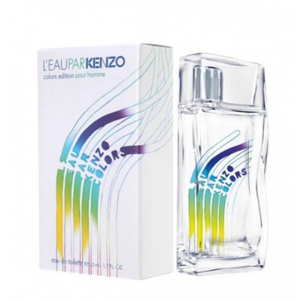 Мужская туалетная вода: Kenzo L'Eau Par Colors Edition Pour Homme 100ml в Мой флакон
