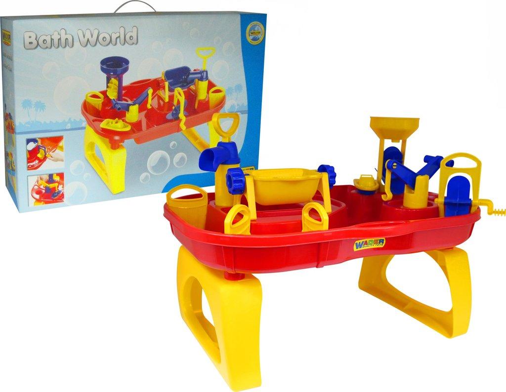 Игрушки для малышей: Полесье Wader  40909 Набор Водный мир в Игрушки Сити