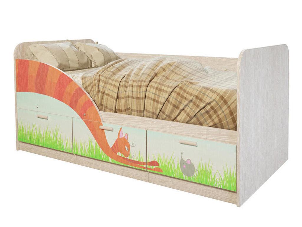 Детские: Кровать детская Минима (Сказка) в Vesa