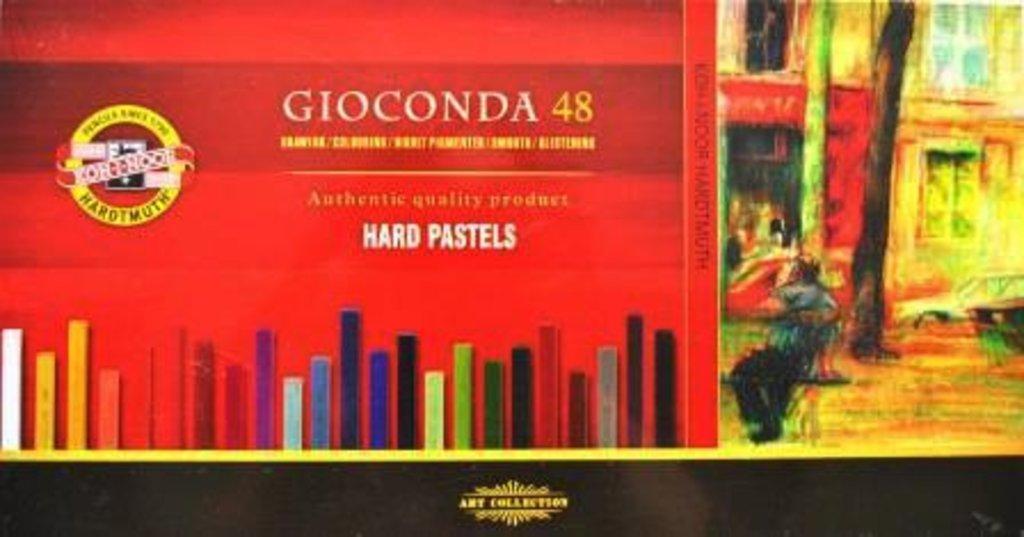 """Пастель: Набор масляной твердой пастели для художника, """"Gioconda"""" 48 цвета  KOH-I-NOOR в Шедевр, художественный салон"""
