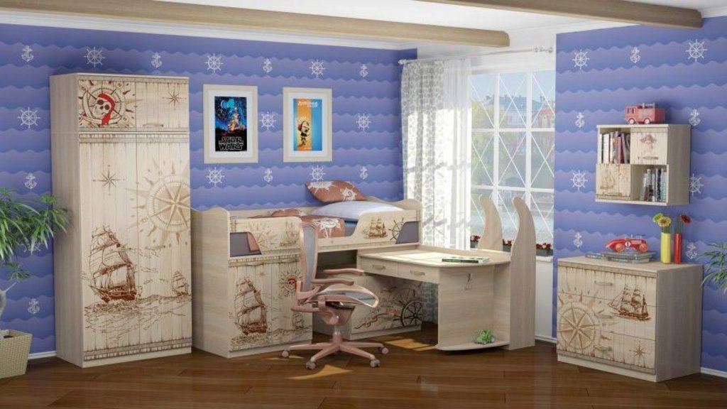 Модульная мебель в детскую Квест: Модульная мебель в детскую Квест в Стильная мебель