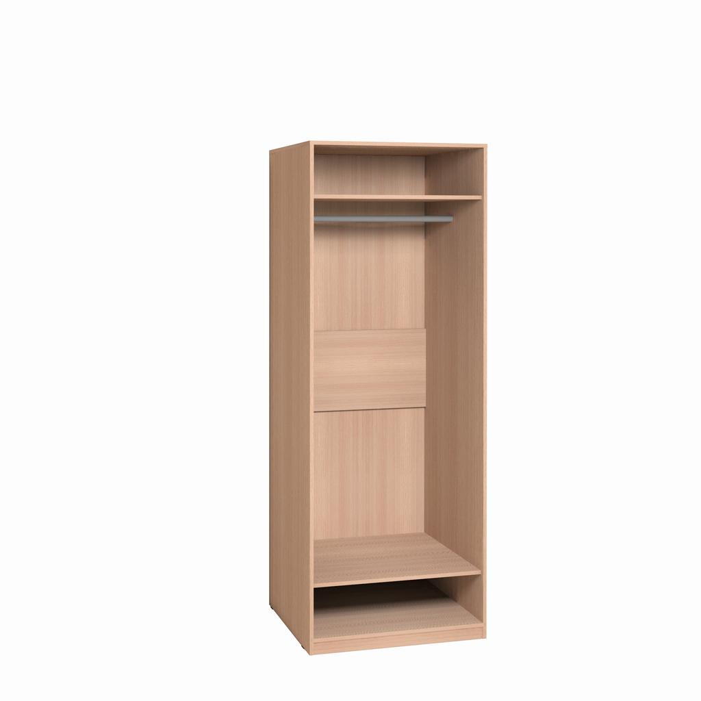 Детские шкафы и стеллажи: Шкаф для одежды Фасад Серый Калейдоскоп 2 в Стильная мебель