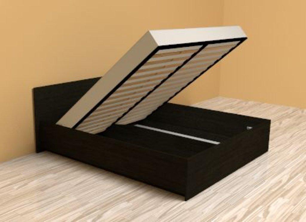 Кровати: Кровать Эко 3.2 (1400, мех. подъема) в Стильная мебель