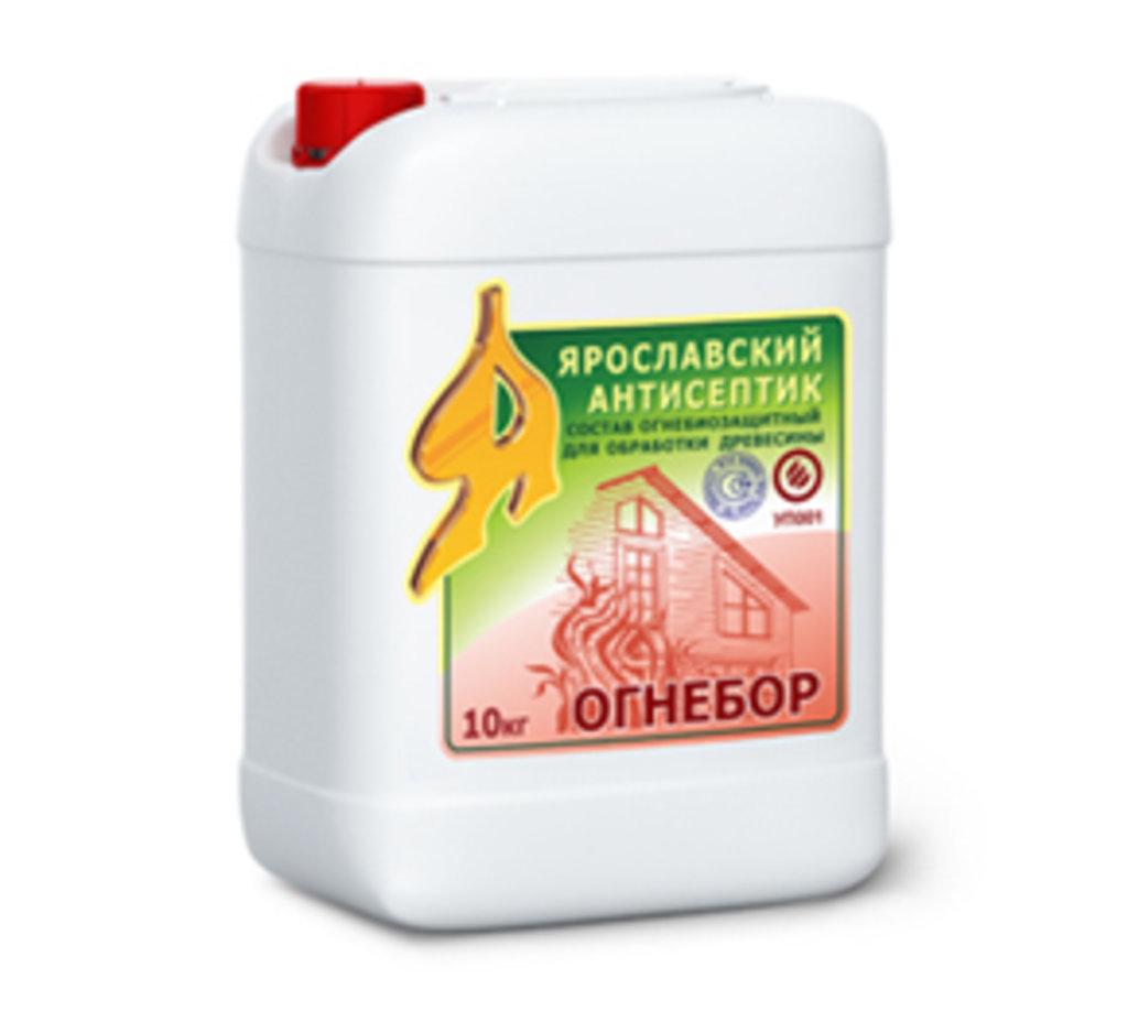 Грунтовки: Огнебиозащитный состав для древесины ОГНЕБОР в АНЧАР,  строительные материалы