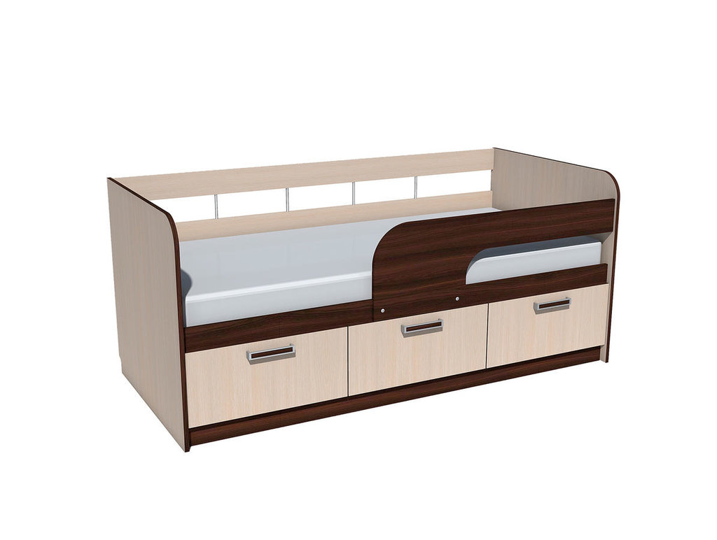 Детские и подростковые кровати: Кровать НМ 039.04 Рико (800x1800, усилен. настил) в Стильная мебель