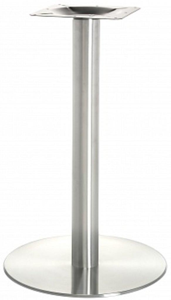 Подстолье, опоры: Подстолье 1001EM (нержавеющая сталь матовое) в АРТ-МЕБЕЛЬ НН