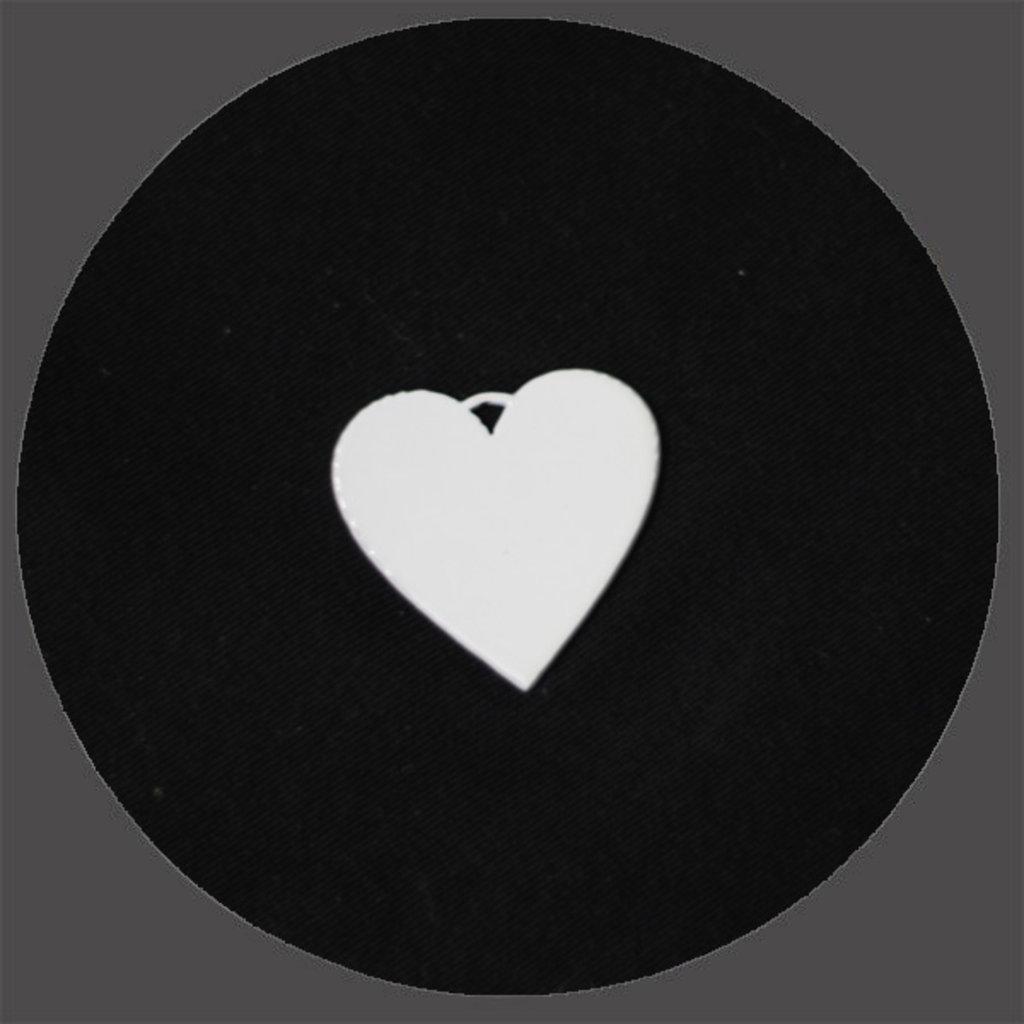 Брелоки: Брелок сердце под сублимацию в NeoPlastic