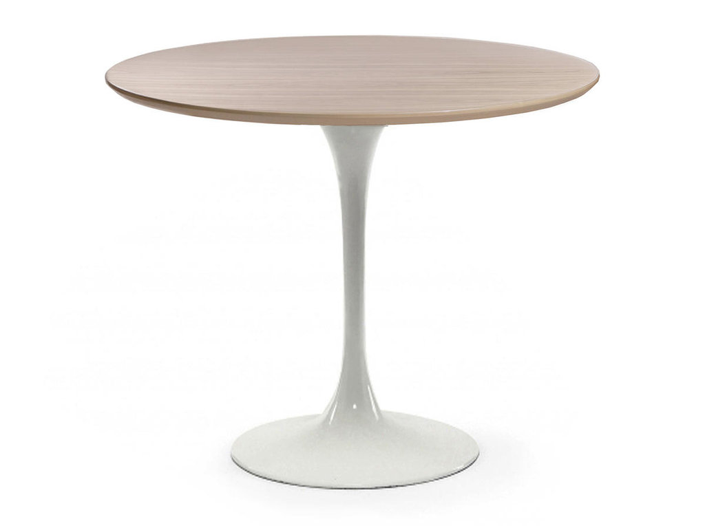 Столы обеденные: Стол обеденный Априори T круглый 90 см 13т бук в Актуальный дизайн