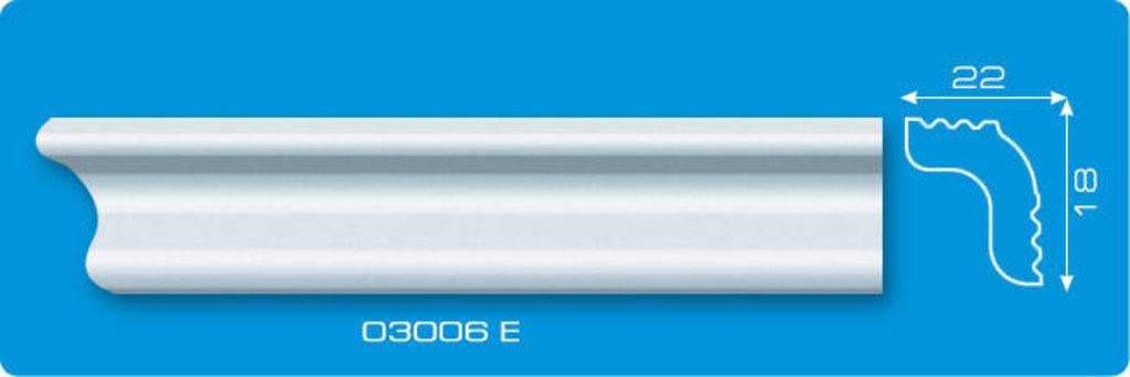 Плинтуса потолочные: Плинтус потолочный ФОРМАТ 03006 Е экструзионный длина 2м в Мир Потолков
