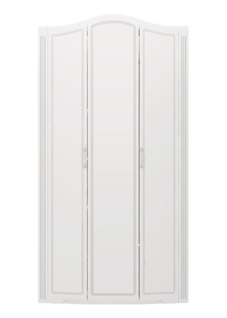 Шкафы для одежды и белья: Шкаф для одежды 3-х дверный (б/зерк) (09) Виктория в Стильная мебель