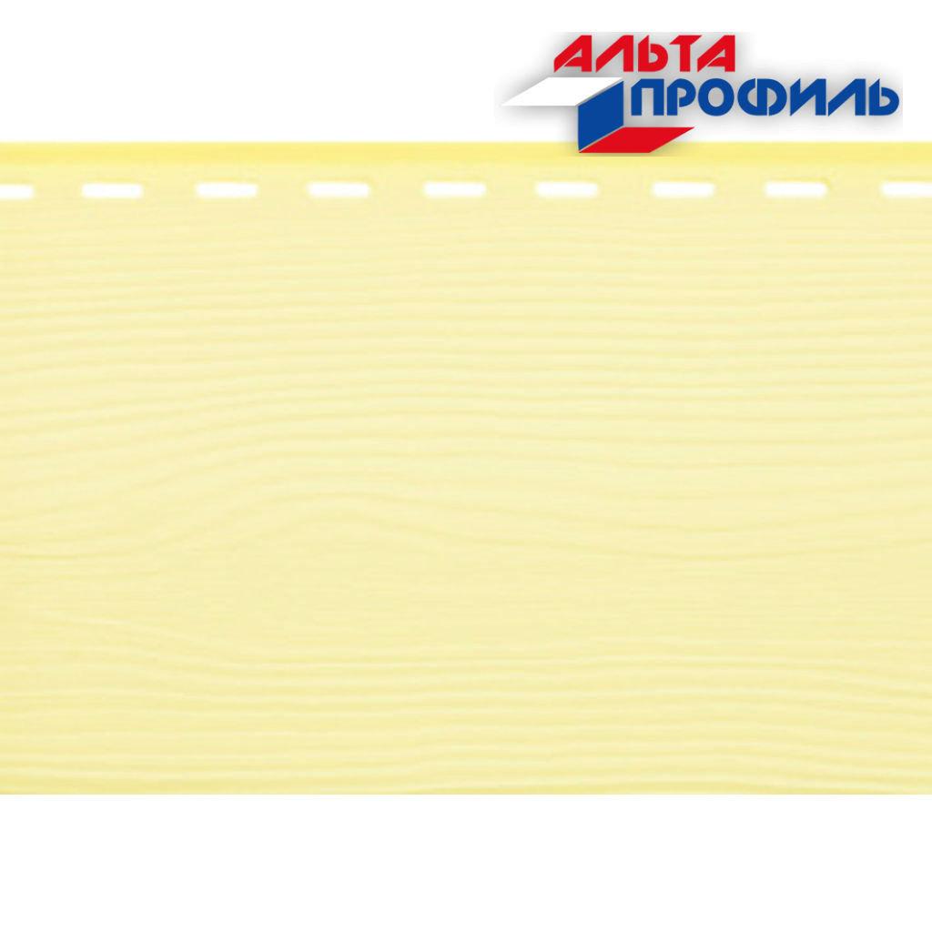 Вспененный сайдинг: Альта-Борд, Стандарт, панель ВС-01, жёлтая - 3,00х0,18м. в АНЧАР,  строительные материалы