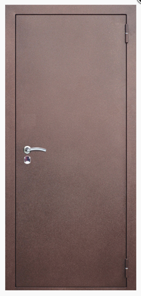 Двери Бункер: Входная дверь. Фабрика Бункер. Модель Базис-1 в Двери в Тюмени, межкомнатные двери, входные двери