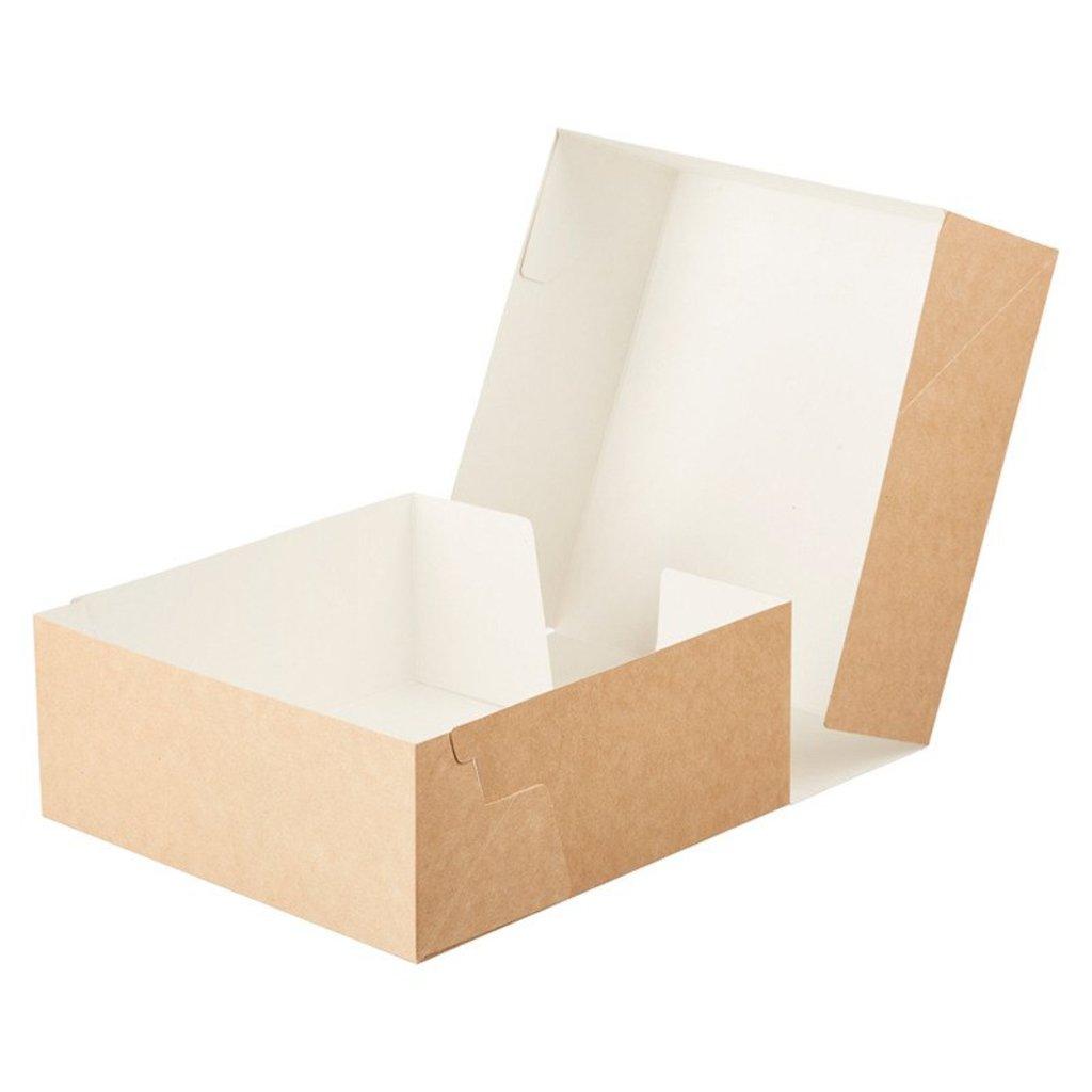 Упаковка: Картонная упаковка для кондитерских изделий в ТортExpress