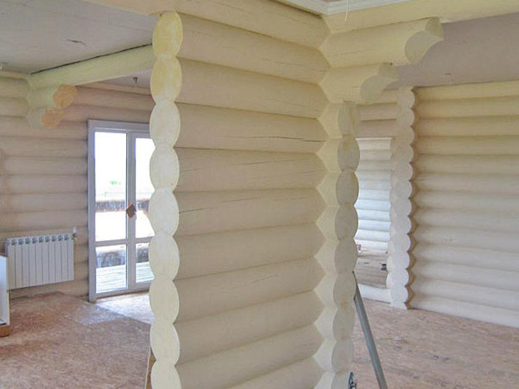 Ремонт и отделка помещений: Покраска стен в ДревДом35