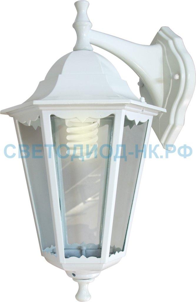 Садово-парковые светильники: 6102 60W 230V E27 170*200*320мм белый в СВЕТОВОД