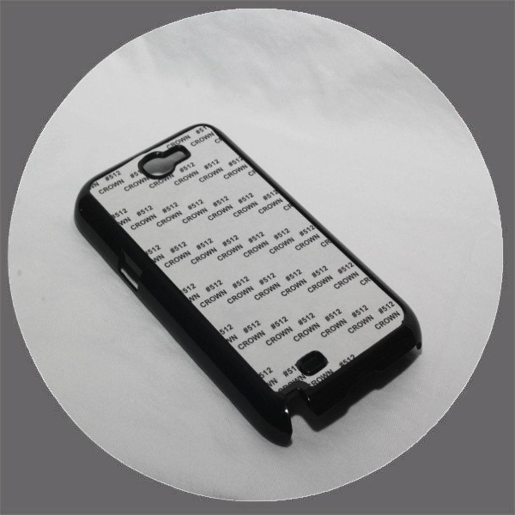 Samsung: Чехол для Samsung Galaxy Note 2 n 7100 Черный пластиковый в NeoPlastic