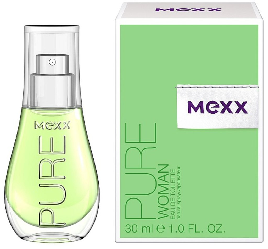 Женская туалетная вода Mexx: Mexx Pure edt ж 30 ml в Элит-парфюм