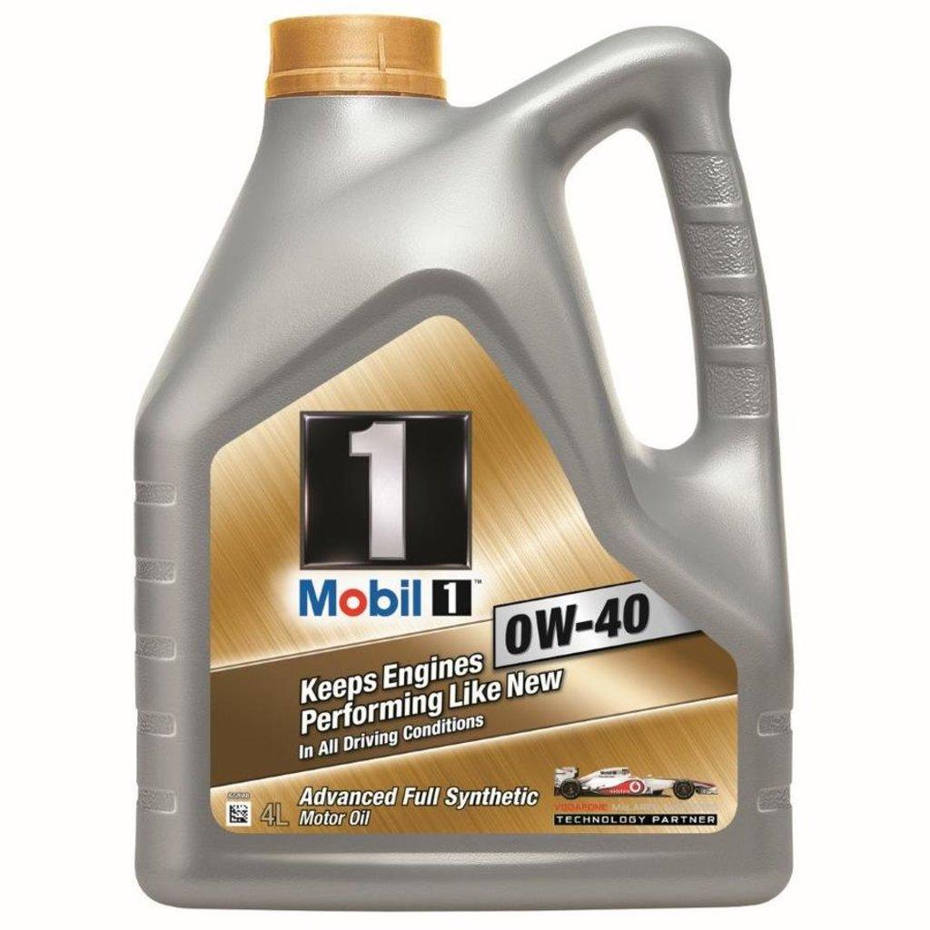 Автомасла Mobil 1: Mobil 1 0W-40 (4.0 л х 4) в Автомасла71