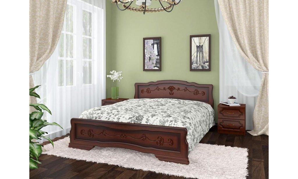 Кровати: Кровать Карина-6 тахта (массив) в Уютный дом