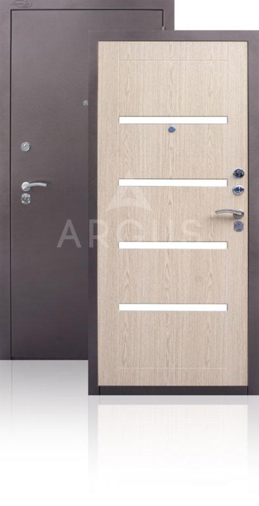 Двери Аргус: Дверь АРГУС.  ДА-11. ИЗАБЕЛЬ светлый горизонт в Двери в Тюмени, межкомнатные двери, входные двери