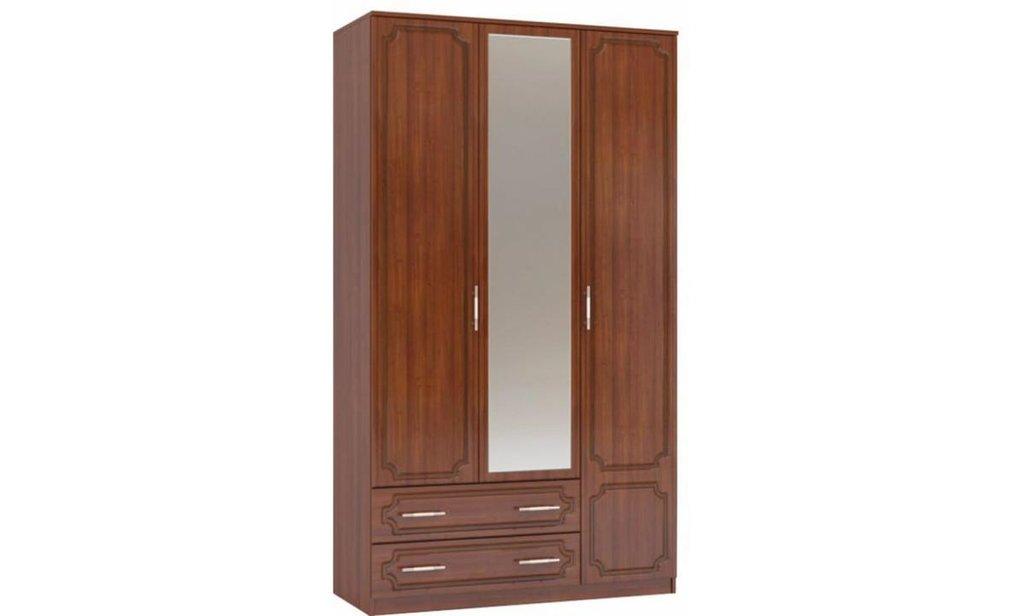 Спальный гарнитур Классик: Шкаф ШР-3 Классик, платье и бельё, 2 больших ящика (820х350) в Уютный дом