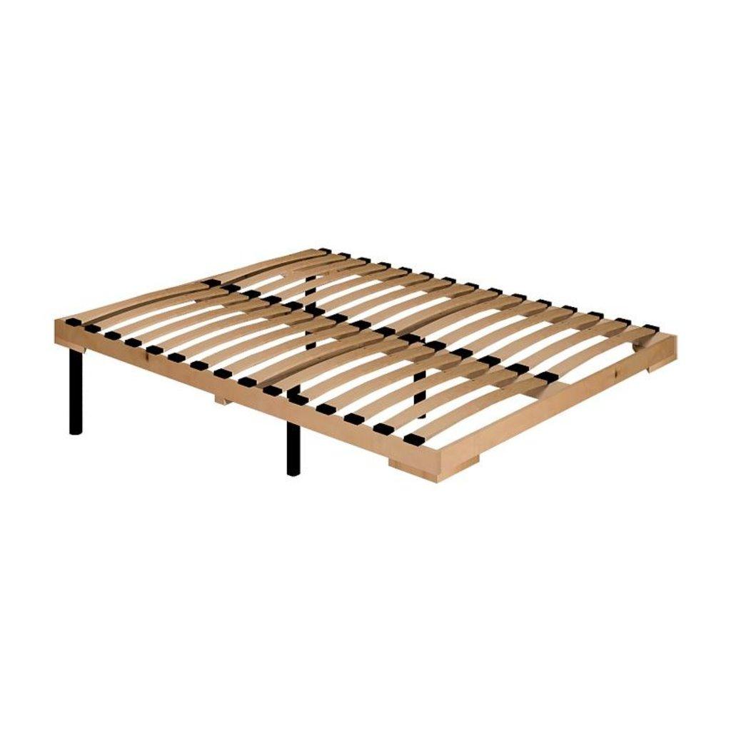 Кровати: Кровать Бриз 33 (1400, орт. осн. дерево) в Стильная мебель