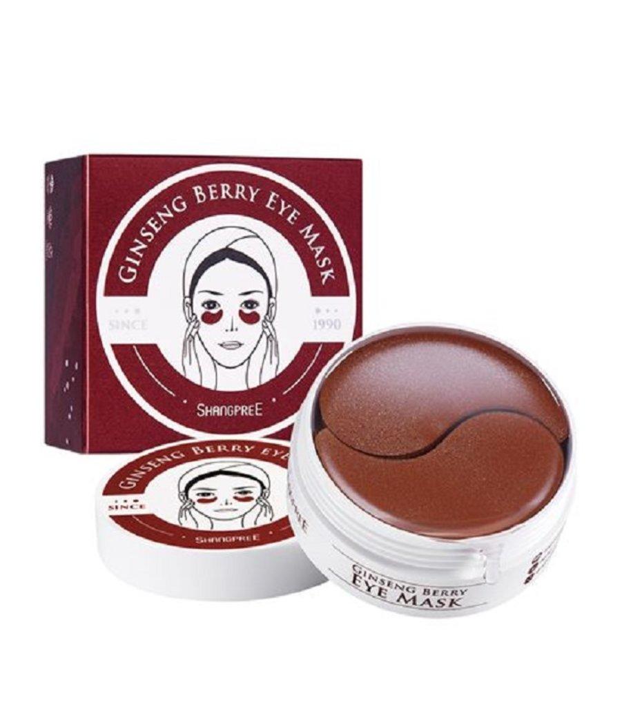 Патчи: Гидрогелевые патчи для глаз с экстрактом женьшеня Ginseng Berry Eye Mask 60шт в Мой флакон