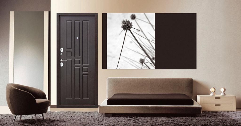 Двери завода Феррони: Входная дверь Гарда Garda 8 мм Венге в Модуль Плюс