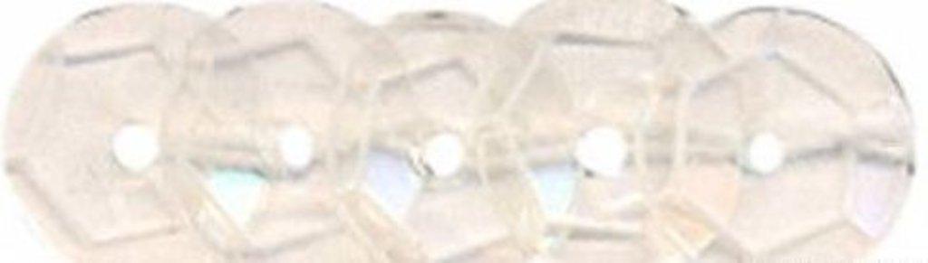 Граненые 6мм.: Пайетки граненые 6мм.,упак/10гр.Астра(цвет:06 прозрачный) в Редиант-НК